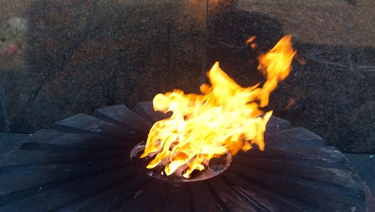 Пятиконечная звезда из стали украсит томский Вечный огонь
