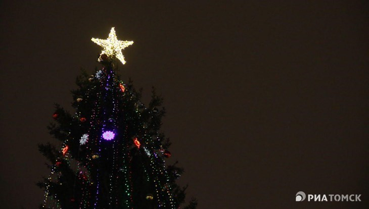 Томичей приглашают отметить Новый год на Новособорной