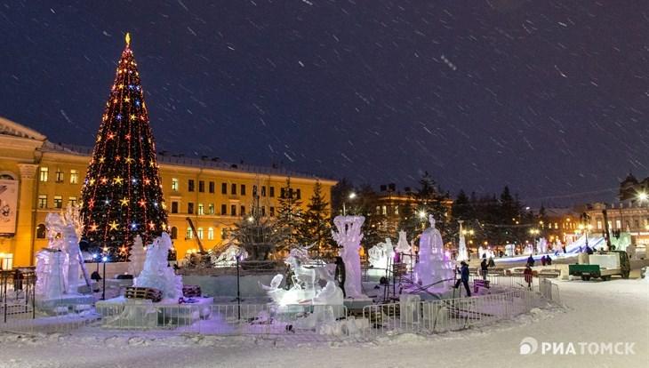 Праздничная игровая программа пройдет на Новособорной 31 декабря