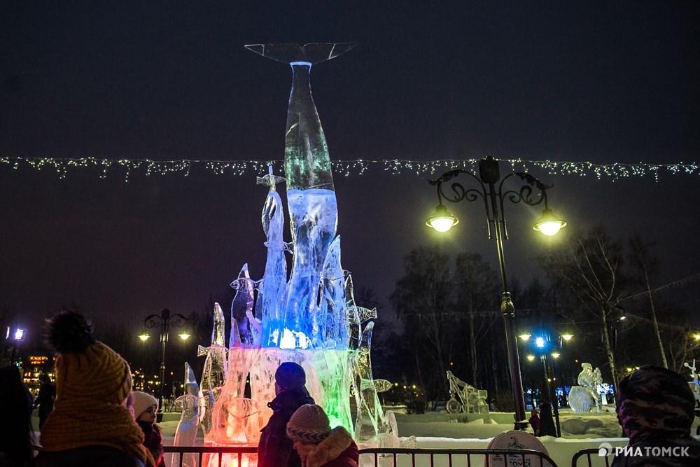 Также на третьем месте оказалась скульптура Русалка от команды Роботы (Белоруссия, Минск).
