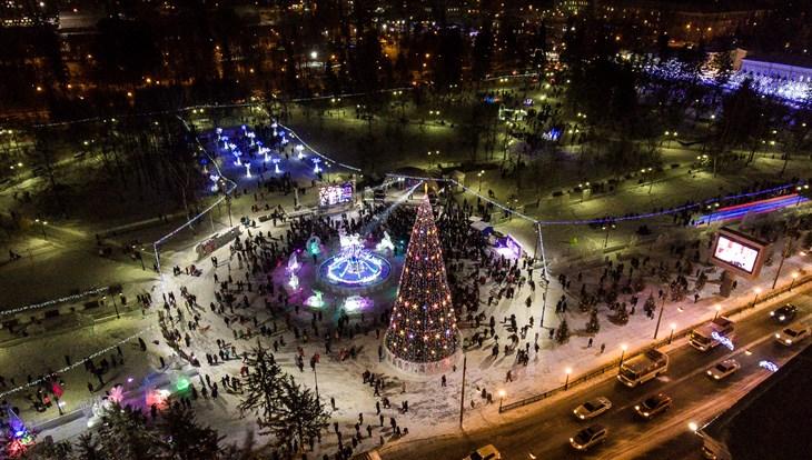 Томичей приглашают на новогоднюю вечеринку Snow party