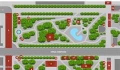 Программа празднования 9 Мая в центре Томска в 2019г: карта-навигатор
