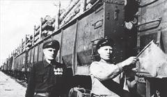 Отправка леса по железной дороге