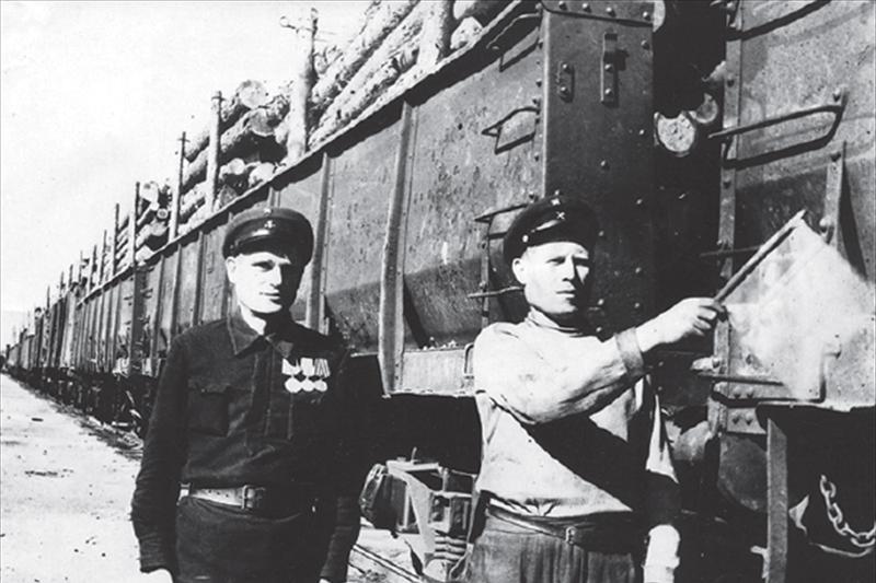 Снимок сделан на станции Томск-II