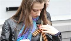 Раздача георгиевских лент со среды начнется в центре Томска