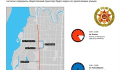 Где в Томске перекроют движение на День Победы: полезная карта