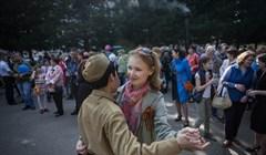 Как томичи отпраздновали День Победы: фото с районных площадок