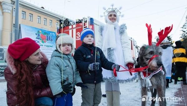 Новый год в Томске: программа праздничных мероприятий