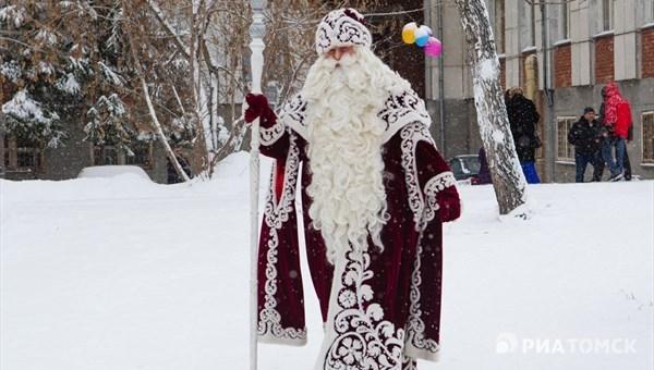 Тулуп от-кутюр: томский историк о моде на костюм Деда Мороза