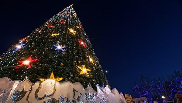 Новогодние елки Томска зажгутся в ближайшую пятницу