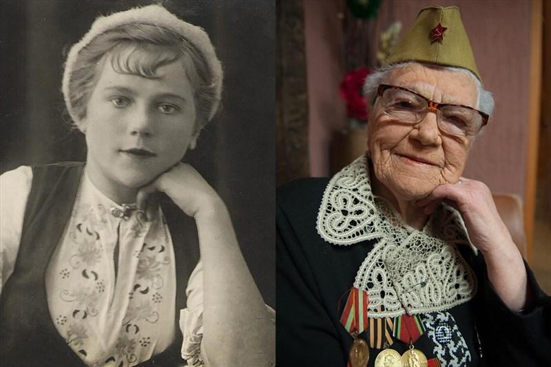 Валентине Григорьевне Яковлевой 90 лет. Она родом со Смоленщины. В 1943 году ушла на фронт, была санитаркой в прифронтовом госпитале до 1946 года – служила, в том числе, и на Дальнем Востоке. Там вышла замуж за сибиряка и приехала с ним в Томск. Награждена орденом Отечественной войны II степени.