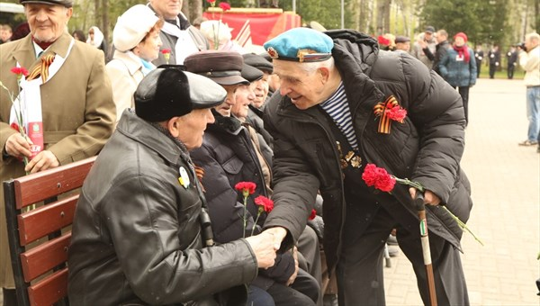 Томские ветераны войны получат ко Дню Победы по 3 тыс руб
