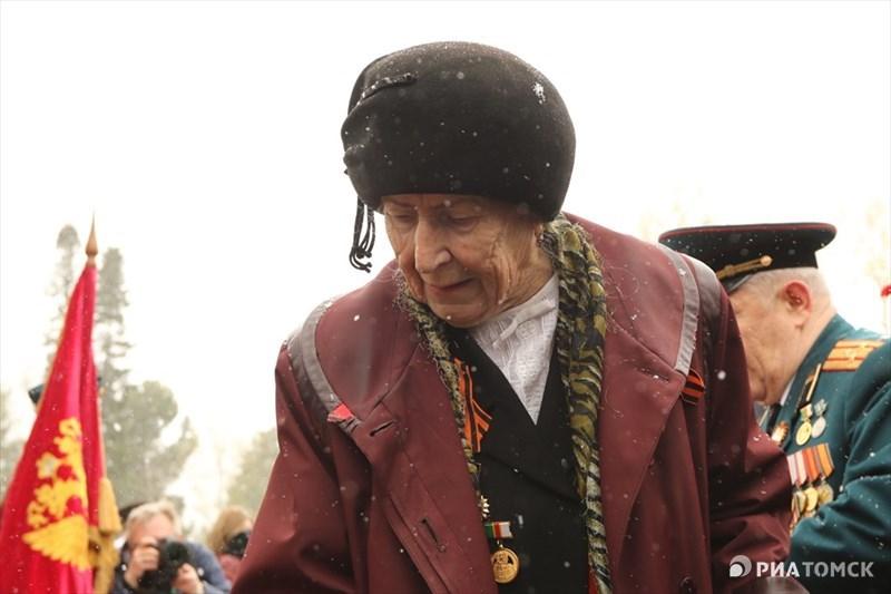 Из Томской области на фронт ушли 130 тысяч человек, 60 тысяч пали в сражениях или числятся пропавшими без вести.
