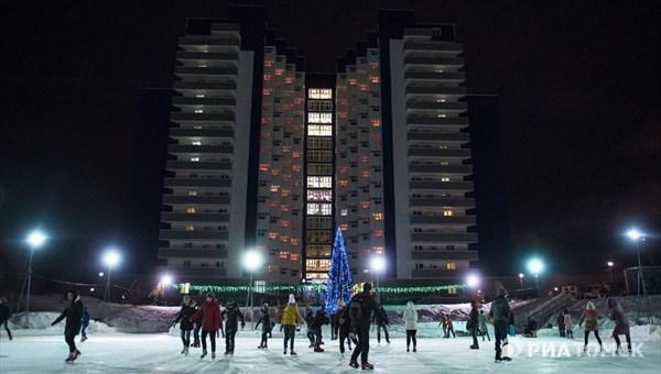 Каток на Мавлюкеевском озере в Томске откроется 21 декабря