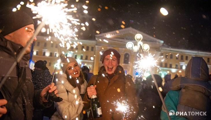 Светодиодный герб Томска появится на Новособорной к Новому году