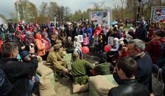 Около 100 тыс человек участвовали в праздновании Дня Победы в Томске