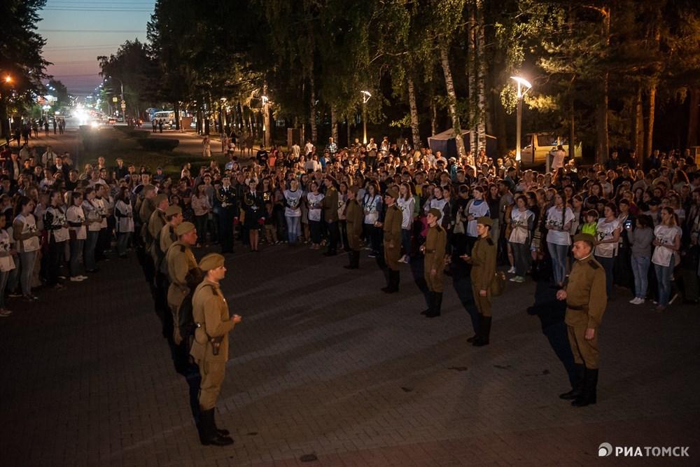 По данным городской администрации, в этом году в акции приняли участие 1,5 тысячи томичей.