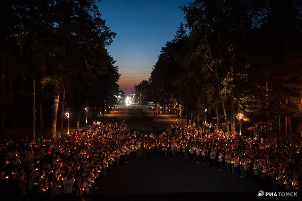 Свеча памяти – международная акция, которая ежегодно проходит с 2009 года в ночь на 22 июня – накануне Дня памяти и скорби.