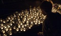 Сотни свечей: томичи почтили павших в Великой Отечественной войне