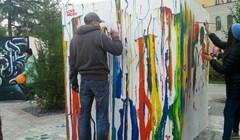 Стенограффия в Томске: что нарисовали горожане и уличные художники