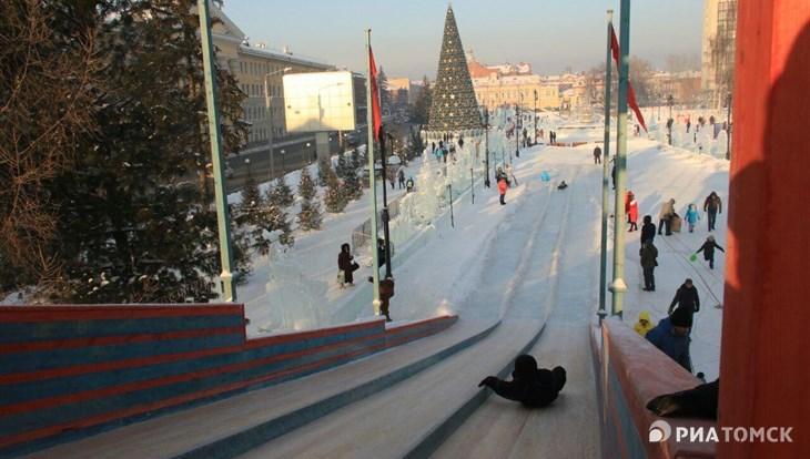 Праздничную программу на Новособорной в Томске отменили в воскресенье