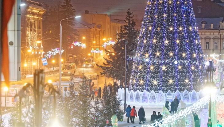 Праздничные дискотеки пройдут 12 и 13 января на Новособорной в Томске