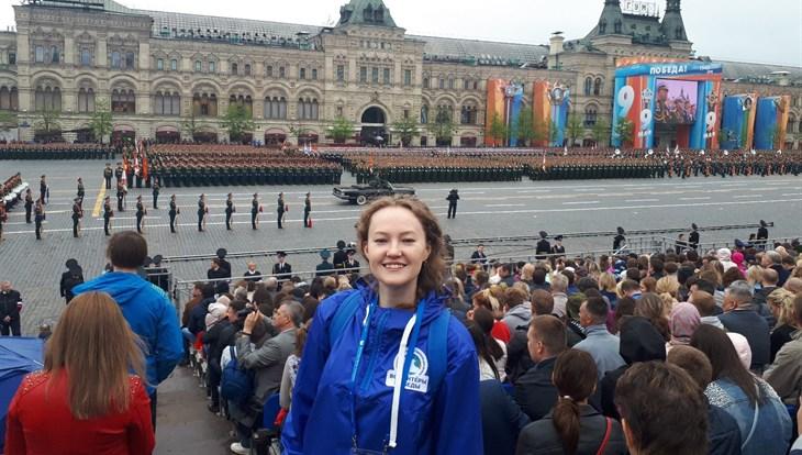 Сотрудница ТПУ станет Послом Победы на Красной площади в Москве