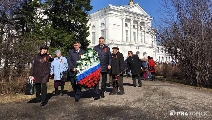 ТПУ и ТГУ почтили память студентов и сотрудников, ушедших на фронт