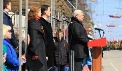 Митинг в честь Дня Победы начался на Новособорной в Томске