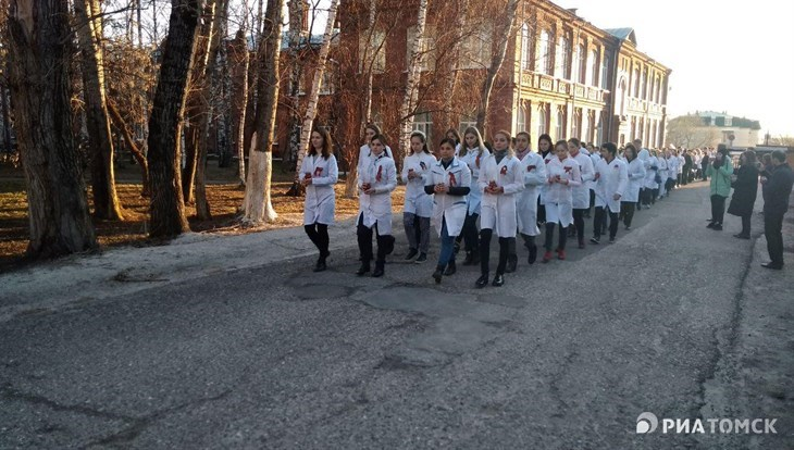 Около 250 человек впервые прошли Дорогой милосердия в Томске