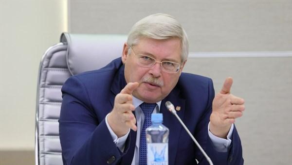Губернатор Сергей Жвачкин напутствовал кандидатов в главы Томского и Колпашевского районов
