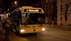 Цена проезда в электротранспорте Томска в новогоднюю ночь не вырастет