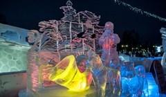Ледовая сказка: ошеломительные скульптуры Хрустального Томска