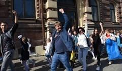 С каким настроением в Томске прошел Парад университетов: фото и видео