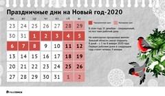 Как отдыхаем на Новый год 2019/2020? Официальные выходные дни