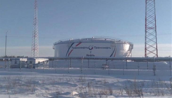 """Транснефть"" обновила резервуар для хранения нефти на томском севере"
