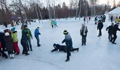 Первые катки открылись в Томске