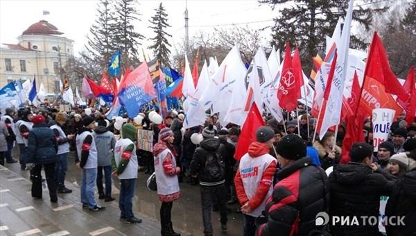 В областях пройдут митинги вчесть годовщины воссоединения Крыма сРоссией