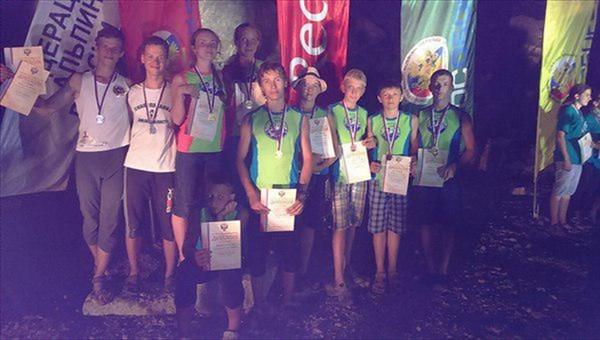 Томичи победили на первом юношеском первенстве РФ по альпинизму