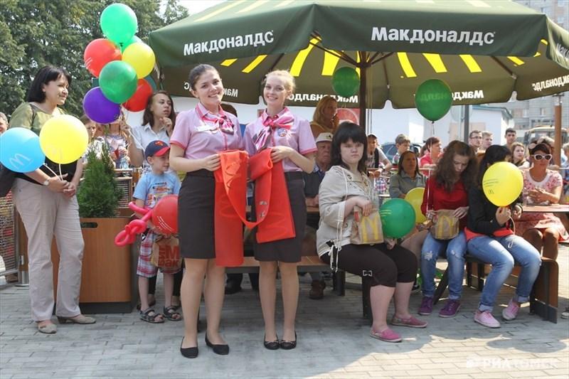 Официальное открытие ресторана состоялось в среду, в 15.00.
