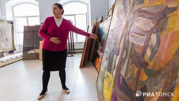 ВТомске при прорыве трубы отопления пострадали картины вместном художественном музее