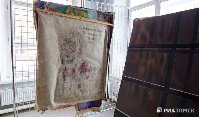 Часть картин художественного музея Томска пострадала при порыве трубы