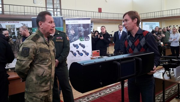 Нацгвардия будет использовать разработанный вТГУ прибор вантитеррористических операциях