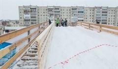 Эх, прокатились: власти проверили ледовые горки в двух районах Томска