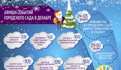 Горсад предновогодний: где можно весело провести время в Томске