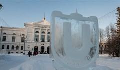 От бабочки до динозавра: парк ледяных скульптур открылся в роще ТГУ