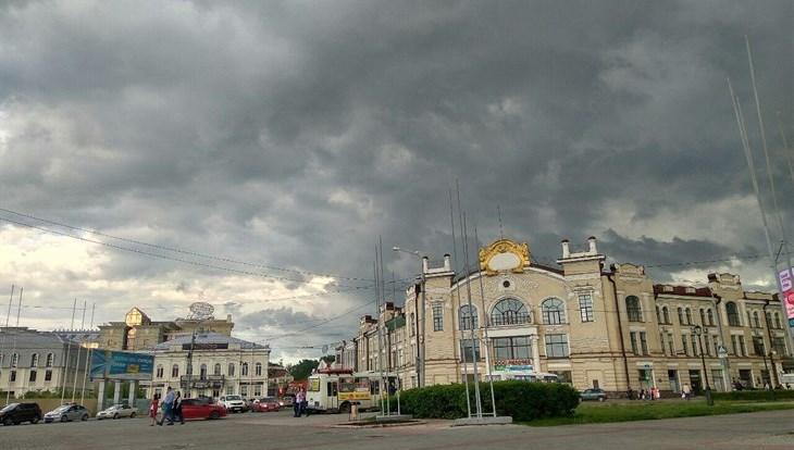 ВОмской области объявлено штормовое предупреждение