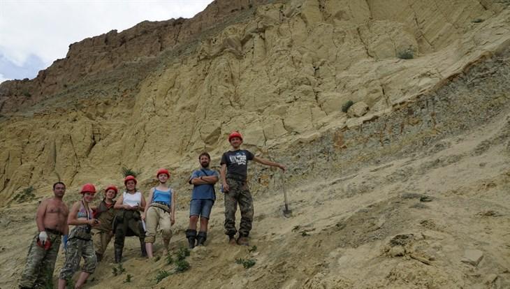 Томские палеонтологи открыли новое местонахождение динозавров имамонтов
