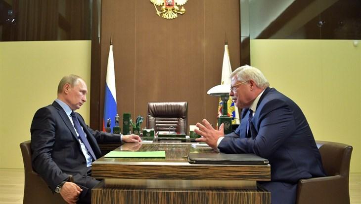 Жвачкин поведал Путину о«фишечках» Томской области