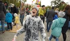 Пена, жидкий азот и панкейки: День маленького томича в фотографиях